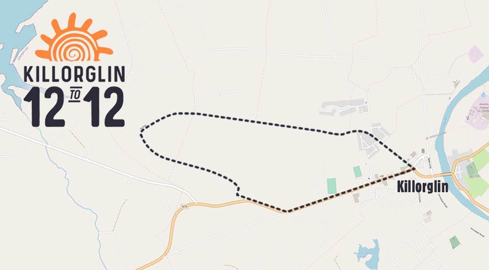 Killorglin 12 to 12 route map